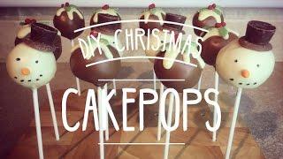 DIY Christmas Cakepops | Emily Askew