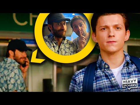SPIDER-MAN FAR FROM HOME: EVERY TIME MYSTERIO WAS HIDDEN IN THE BACKGROUND OF A SCENE