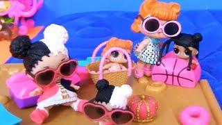 Куклы Лол Сюрприз! Один день из жизни Лол и Шопкинс! Мультик Lol Surprise Dolls