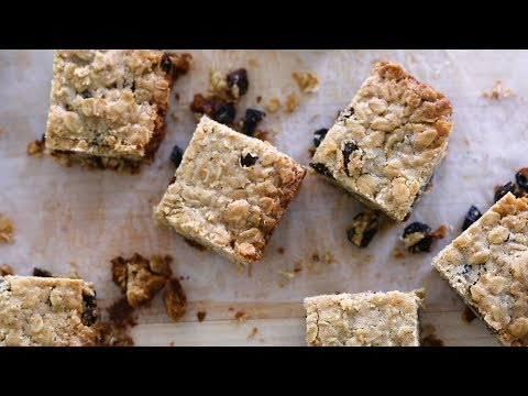 Oatmeal-Raisin Bars- Sweet Talk with Lindsay Strand