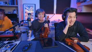 Albert Chang & Ray Chen playing violin (feat. Lily)