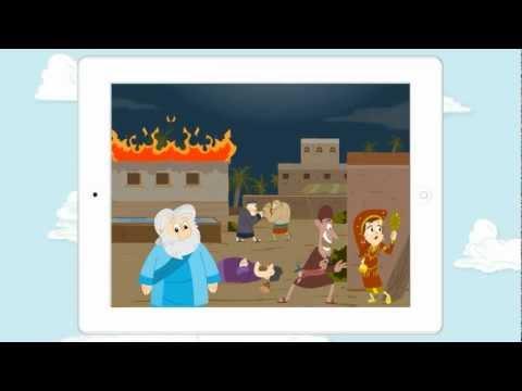 Video of Noah's Ark Bible Story