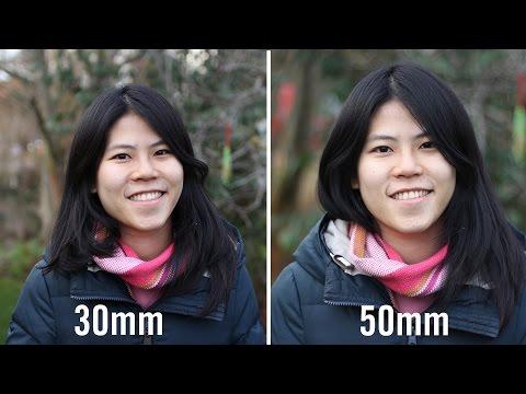 30mm vs 50mm Prime Lenses Comparison For Full Frame And APS-C Cameras | Video DSLR Tutorial