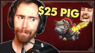 Asmongold is BACK to Roast the New Store Mount!