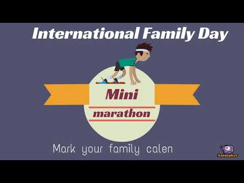 International Family Day: Are you ready for the mini-marathon?