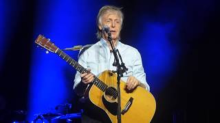 Paul McCartney - I've Just Seen A Face [Live at Tauron Arena, Kraków - 03-12-2018]