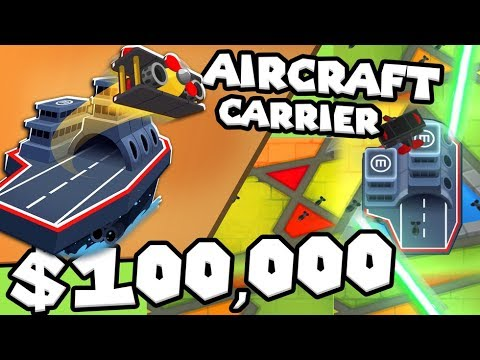 Bloons TD 6 - Carrier Flag Ship - Tier 5 Monkey Buccaneer | JeromeASF