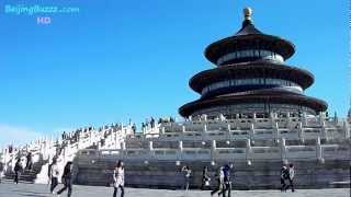 Video : China : The beautiful Temple of Heaven 天坛, BeiJing