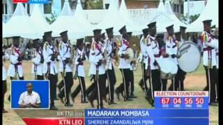 Rais Uhuru aongoza sherehe za sikukuu za Madaraka kaunti ya Nyeri: KTN Leo pt 1