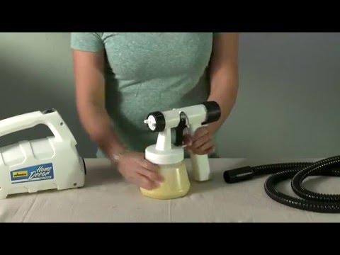 Studio Home Décor Sprayer Setup Video