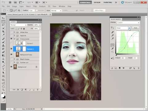 photoshop five ways to tone an image to perfection