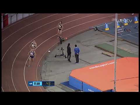 Η Αναστασίου του ΠΑΟΚ με ανατροπή νικήτρια στα 400 μέτρα! | 29/02/2020 | ΕΡΤ