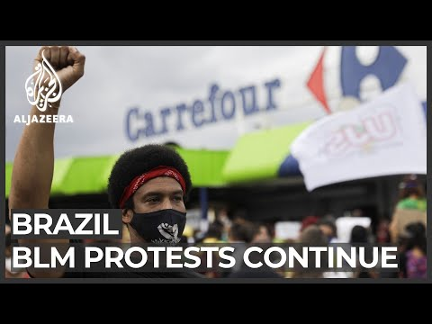 Brazil racism protests: Widespread anger over killing of Black man