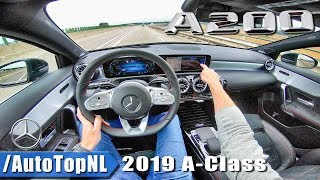 Mercedes Benz A Class 2019 AMG Line | POV Test Drive by AutoTopNL