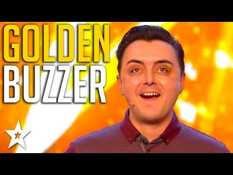 EMOTIONAL Magic Trick WINS GOLDEN BUZZER & Leaves Judges SPEECHLESS! Britain's Got Talent 2018 (видео)