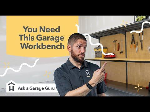 You Need This Garage Workbench