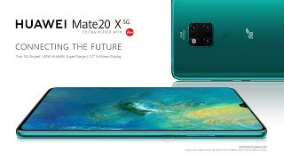 YouTube Video rQ2p3vmJW4k for Product Huawei Mate 20 X 5G Smartphone by Company Huawei Technologies in Industry Smartphones
