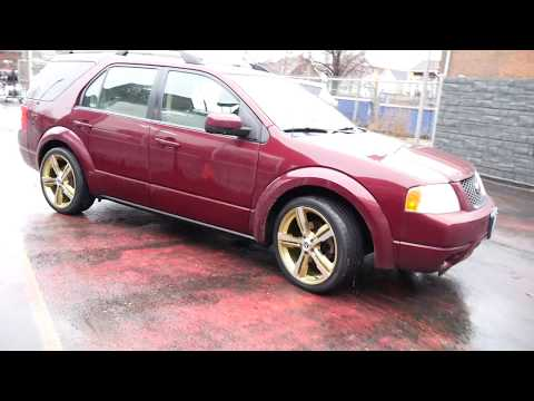 2006 FORD FREESTYLE WITH 20 INCH GOLD RIMS & TIRES - CUSTOM