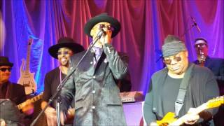 """Dez Dickerson and André Cymone with GSharp and the Bizness - """"Little Red Corvette"""" 4/22/17"""