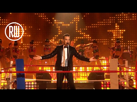Robbie Williams   The Heavy Entertainment Show   BRITs Icon Award Show