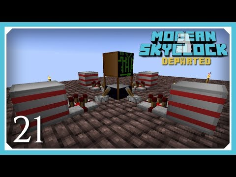 Modern Skyblock 3: Episode 38 - Nuclearcraft Fission Reactor