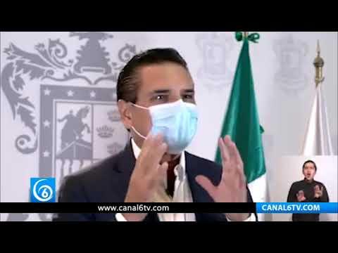 Gobernador de Michoacán le pide a AMLO actuar con dignidad ante Trump