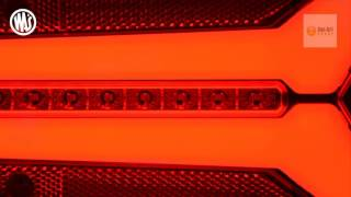 WAS W150DD LED Multi-function rear lights from Dun Bri Group