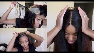 30 Minute Removable Quickweave! Easiest Wig Ever   Beauty Forever Hair