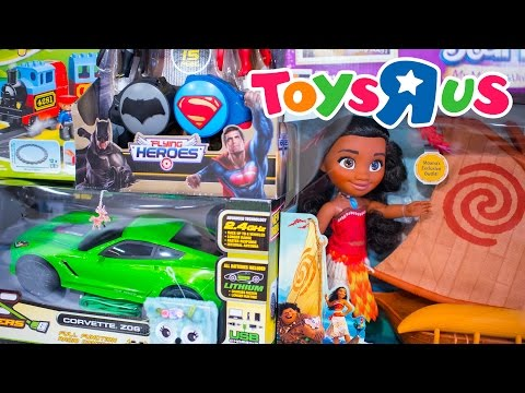 HUGE Toys R Us Toy Hunt with Friends Toys for Boys and Girls Family Fun Shopping Kinder Playtime