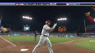 NLCS Gm4: Victorino clutch homer ties it in the 8th