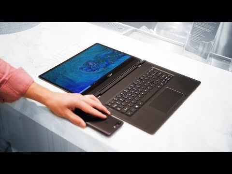 The THINNEST Notebook in the World - Acer Swift 7