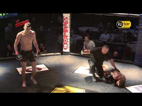 Golden Ticket Fight Promotions - Samuel Ilnicki Vs Solomon Rogers - Beautiful Knock Out