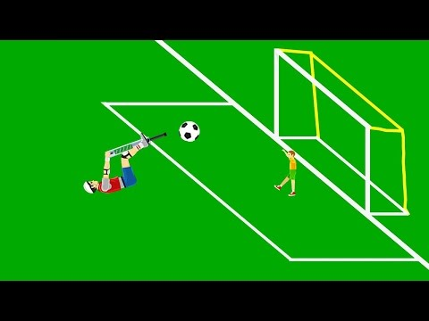 BEST GOAL IN THE HISTORY OF FOOTBALL! (Happy Wheels #44)
