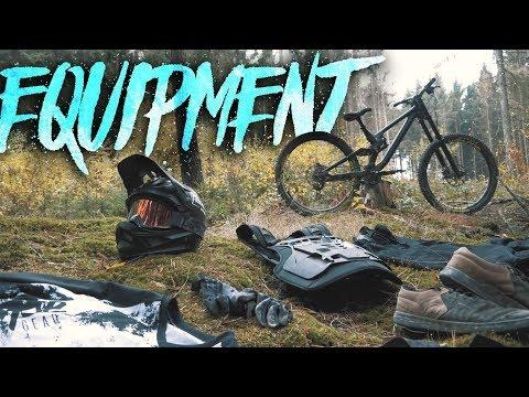 Meine Bike Ausrüstung für Downhill & Enduro | Protektoren Helm Schuhe MTB Bekleidung | Fabio Schäfer