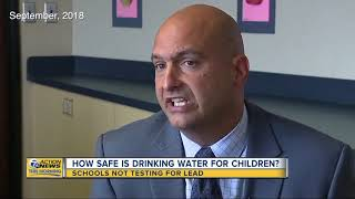 How safe is drinking water for children?