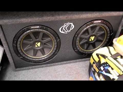 Dual 10″ Kicker Subwoofer & 1200W Kicker Amp Review