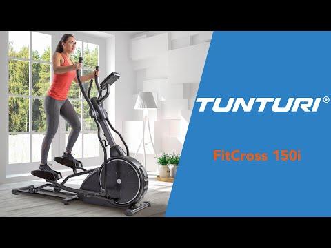 Promovideo: Eliptický trenažér TUNTURI FitCross 150i F