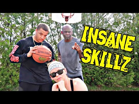 INSANE 1V1 BASKETBALL CHALLENGE: CRUSH CHRIS EP 2 with RYAN SWAZE