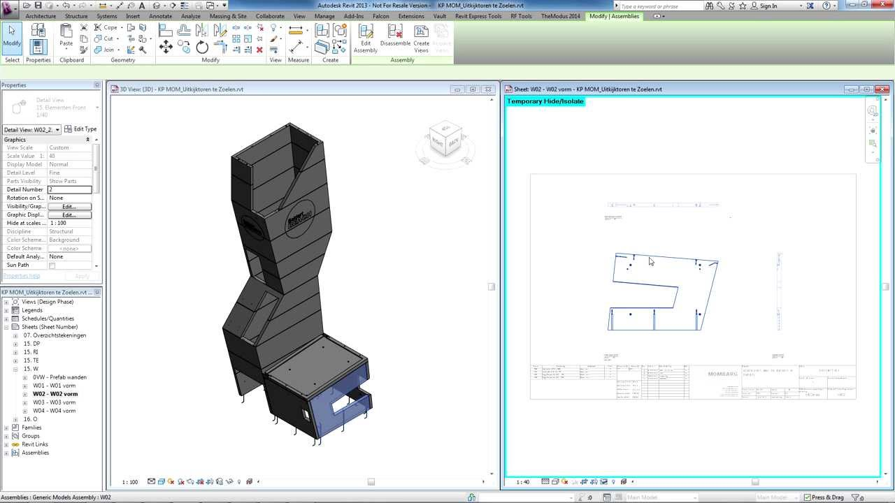 TheModus Documentation license for Revit - Cadac Group