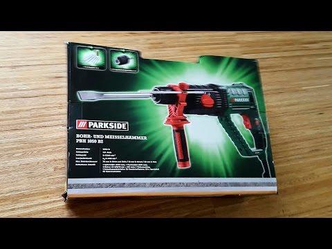 Parkside PBH 1050 W B2 Bohr- und Meisselhammer SDS-Plus, Bohrhammer, Drill Hammer - [Unboxing! 4K]