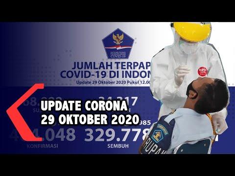 update corona oktober bertambah kasus positif jadi kasus