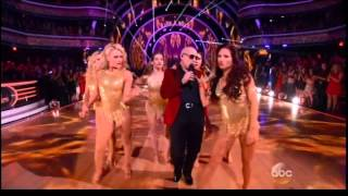 PIT BULL  Fire Ball LIVE at DWTS