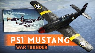 ► BEST FIGHTER PLANE OF WW2?!   War Thunder (P51 Mustang)