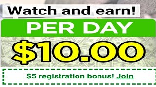 EARN $10 Per Day WATCHING VIDEOS | Make Money Online | No Skill | No Invest | By Dailynete