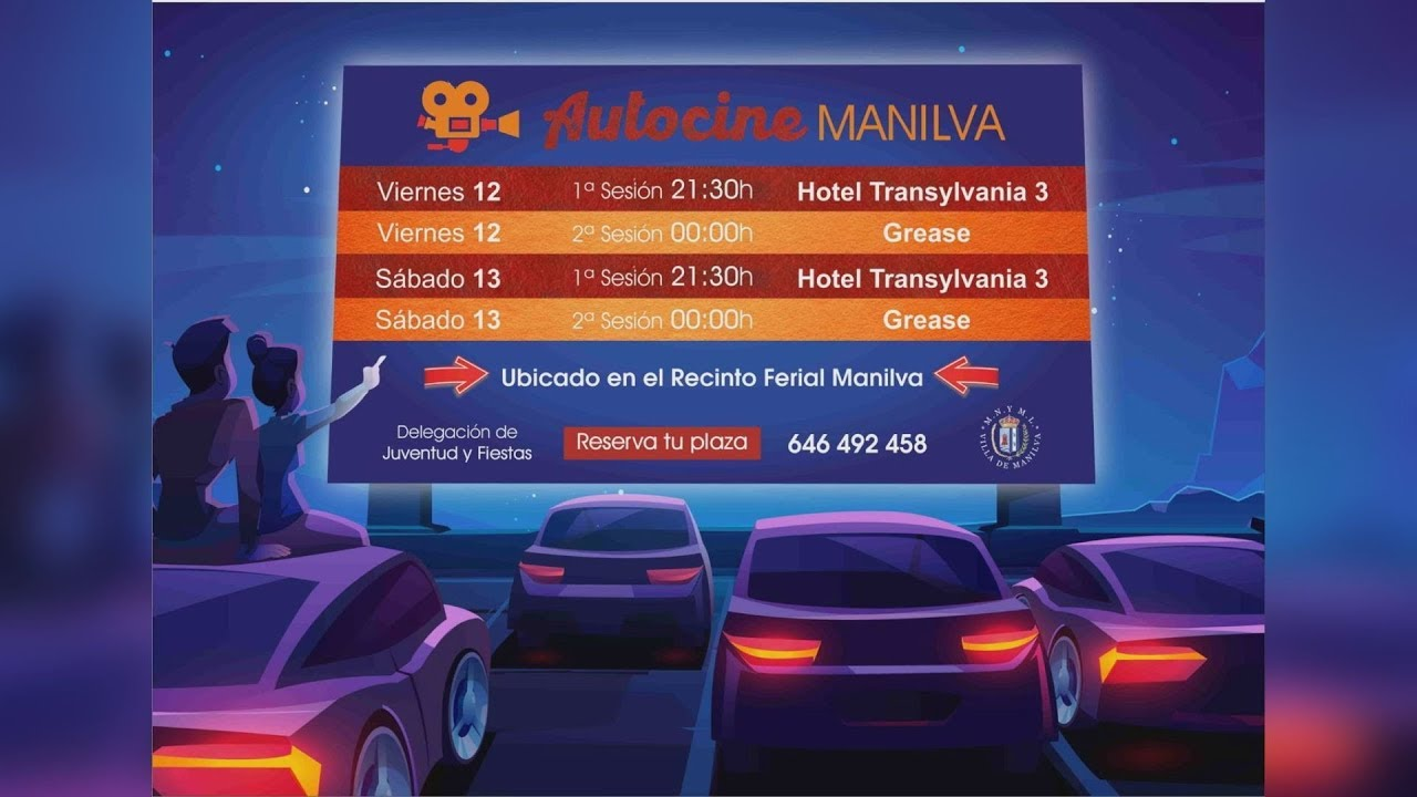 Este viernes se pone en marcha el Autocine en Manilva