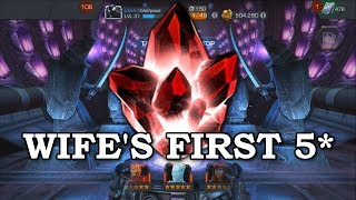 My Wife's First 5-star! | Marvel Contest of Champions