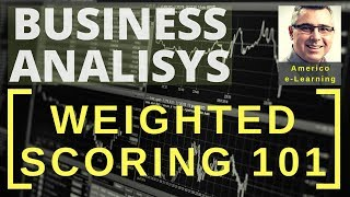 Weighted scoring 101 -Learn quickly decision-making matrix, ranking & prioritization matrix (short)