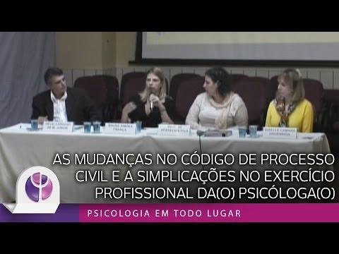 As Mudanças no Código de Processo Civil e as Implicações no Exercício Profissional da(o) Psicóloga(o)