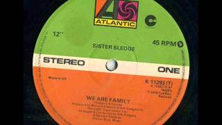 SISTER SLEDGE - We Are Family 12' version 1979