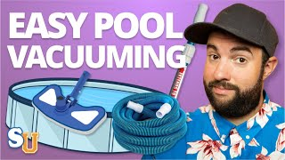 How To VACUUM A POOL (Above Ground and Inground)   Swim University